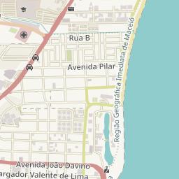 HOTEL POUSADA MACEIO PRAIA MACEIO ALAGOAS - Praia map
